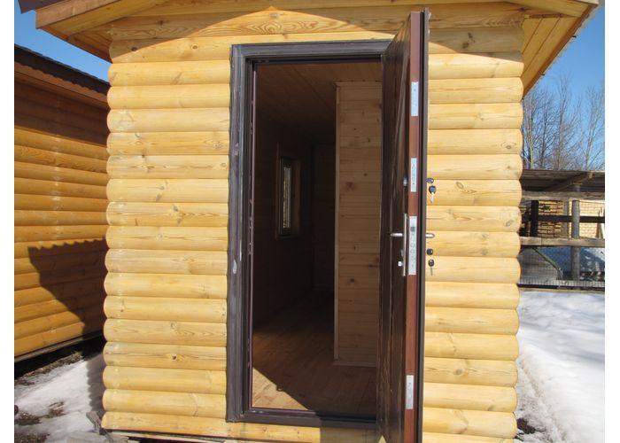 железная дверь в дачный дом